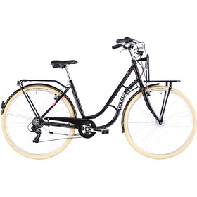 Ortler Detroit EQ Alloy Cargo 6-speed Damer, black
